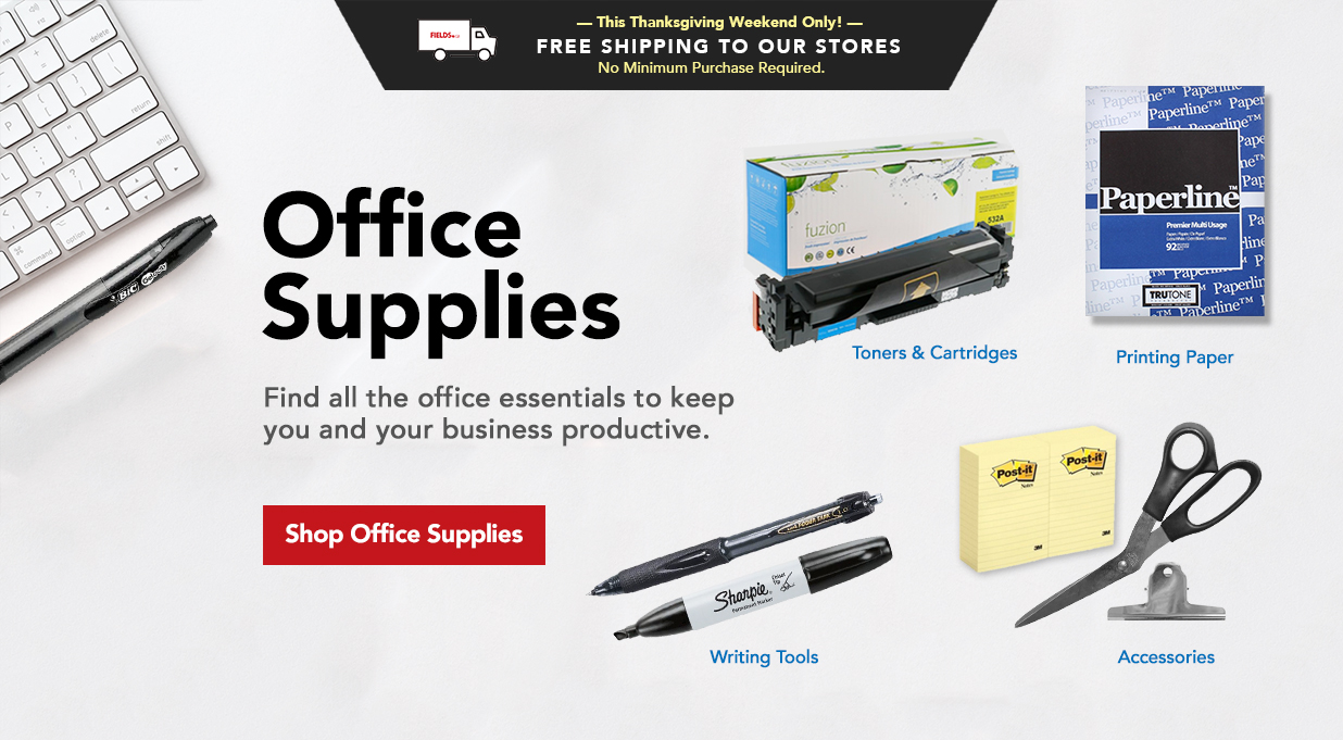 FIELDS Office Supplies