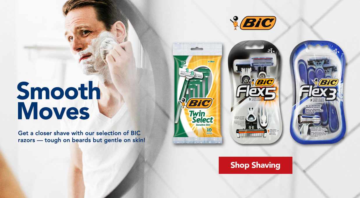 FIELDS Razors and shaving cream great value