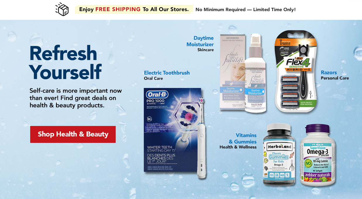FIELDS Health and Beauty - Shop skincare, oral care, vitamins and more