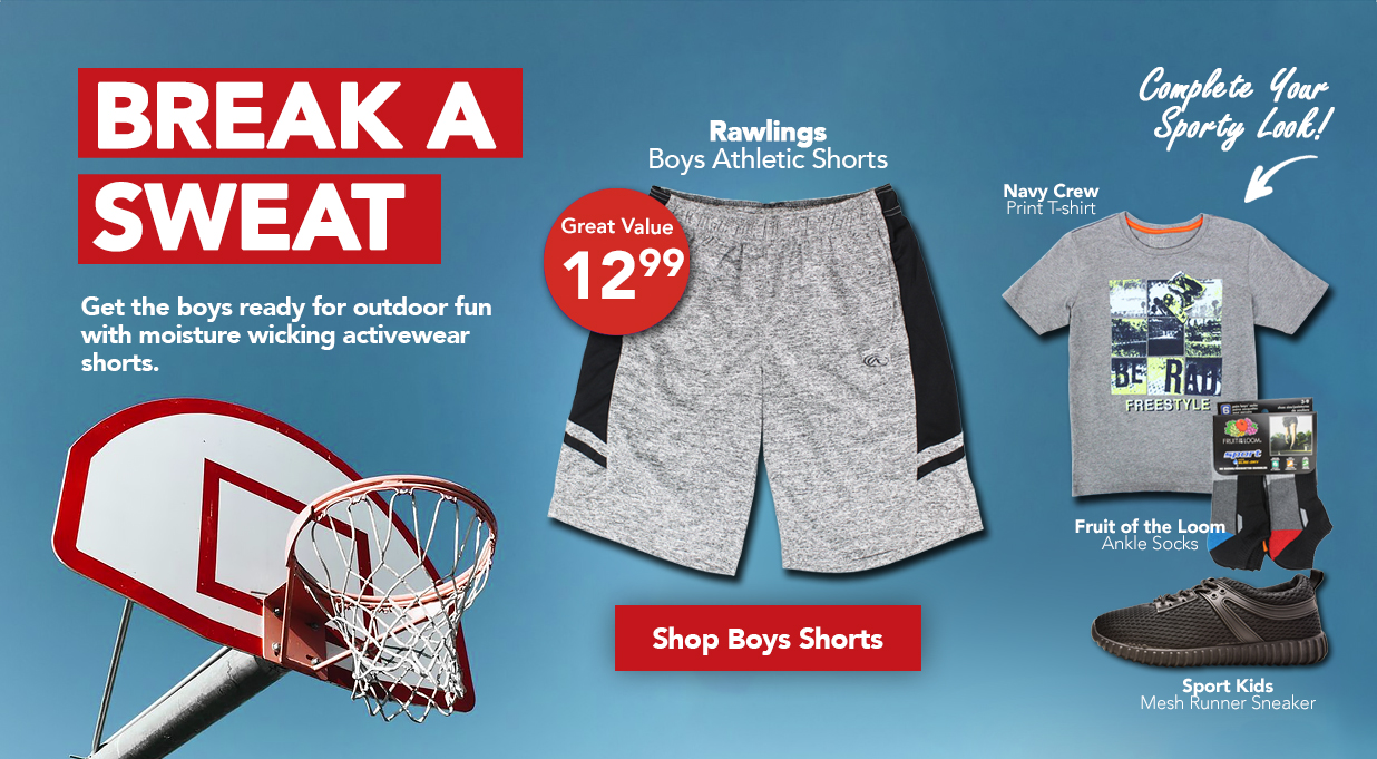 Boys Activewear clothing great value FIELDS