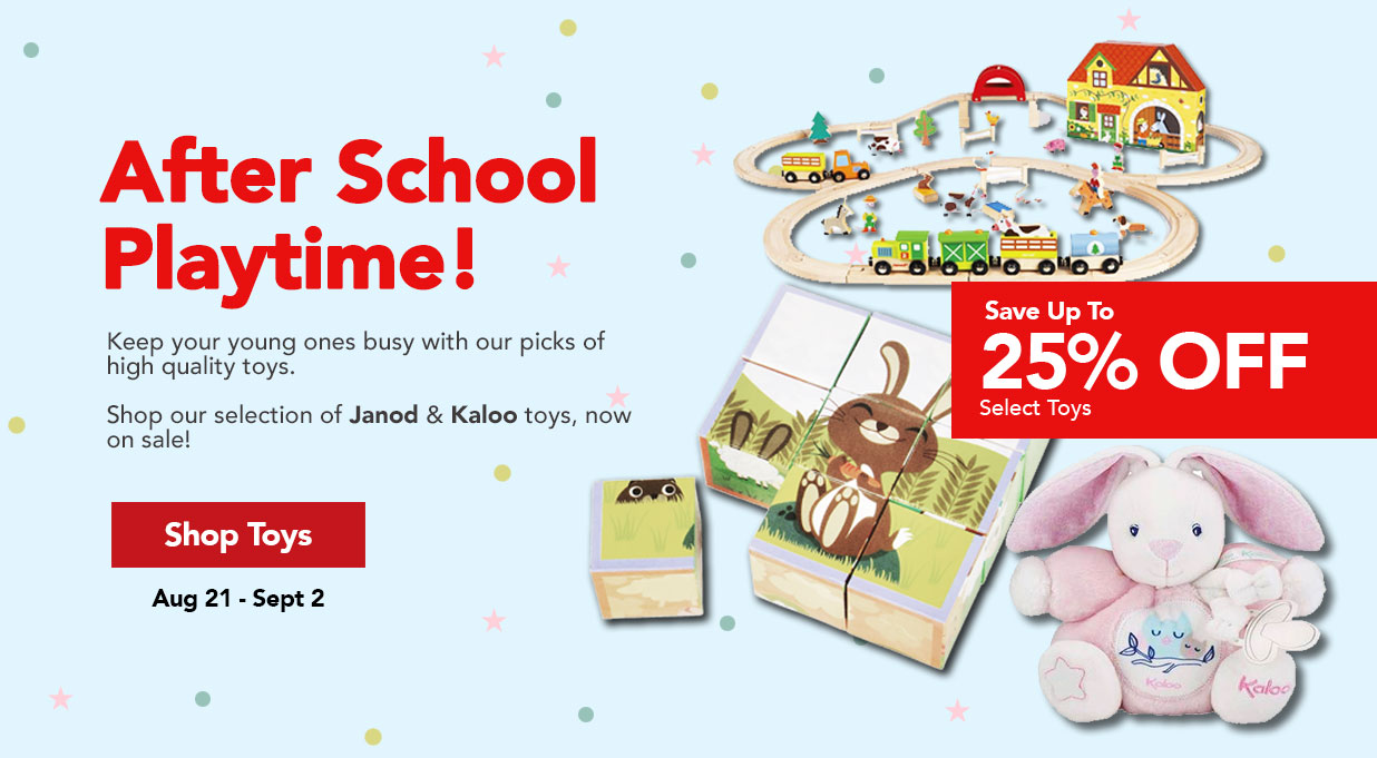 FIELDS Toy Sale Save 25%