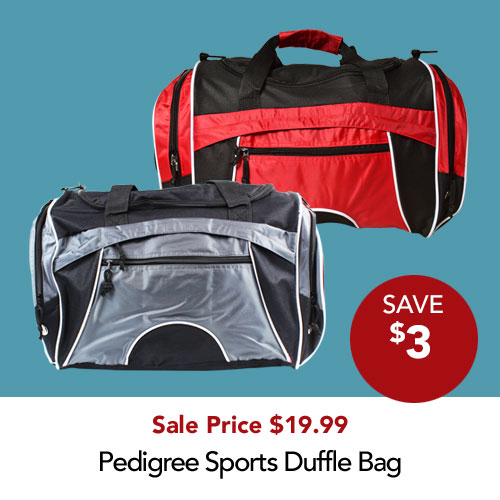 Save $3 Duffle bags