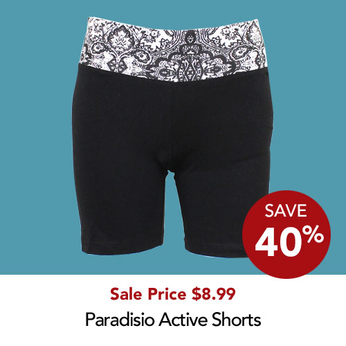 Save 40% Womens Active Shorts