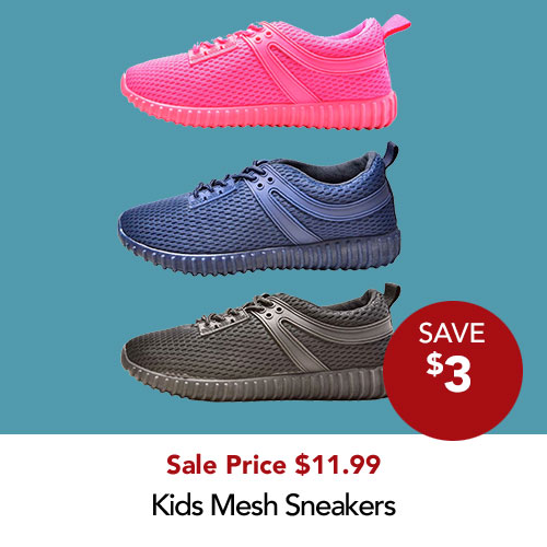 Save $3 Mesh Runners