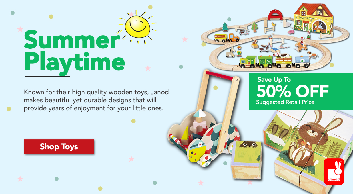 FIELDS Janod Toys Great Price