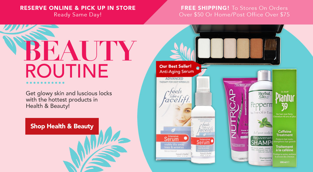 FIELDS Health and Beauty Products Great Value Skincare Makeup
