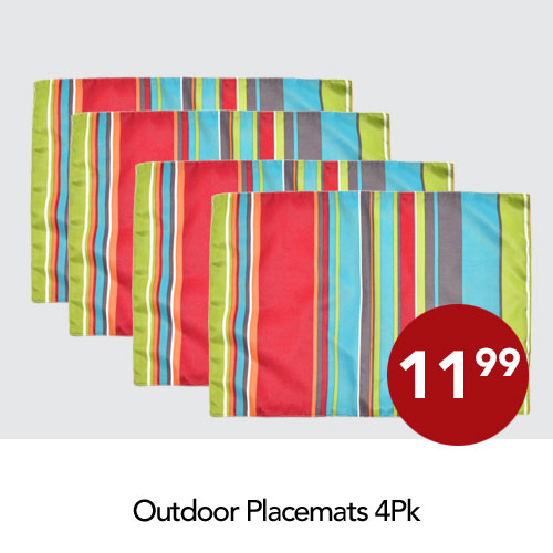 Outdoor placemats
